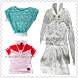 Sommer-Kleidung verwendete Kleidung. Sommer-Mischung