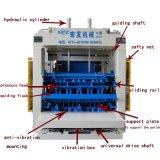 Bloc concret de grande capacité complètement automatique faisant la machine