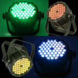 54X3w RGB 3in1 옥외 방수 LED 동위는 점화할 수 있다