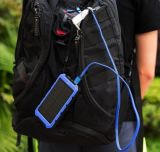10000mAh conjuguent côté imperméable à l'eau d'énergie solaire de chargeur solaire d'USB