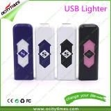 Isqueiro eletrônico recarregável do cigarro do USB do plástico do isqueiro do USB de China