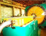 Máquina del tejido del alambre del manguito flexible de 72 portadores