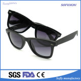 Nuovi occhiali da sole polarizzati degli occhiali da sole Tr90 dell'obiettivo del rivestimento di specchio di stile di modo