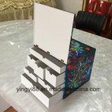 Boîte acrylique claire carrée faite sur commande à nourriture (YYB-8948)