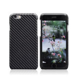 Professionele Carbon Fiber Pu Leather Back Case Cover voor iPhone 6 6s