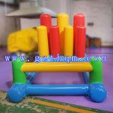 휴대용 팽창식 물 게임 아이를 위한 소형 팽창식 흔들리기 게임