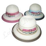 Chapéus da plataforma da palha do Fedora do verão da forma