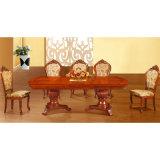 木製表および木椅子(H806)が付いている食堂の家具