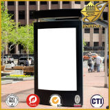 Folha transparente / preto / branco PVC para Advertising Board