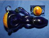 Vetro di fumo del tubo della mano con modello di colore di Beautful il nuovo