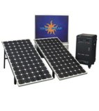 Aprontar o sistema de energia feito do gerador de potência solar para o uso Home