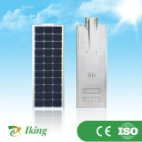 luz de rua solar do diodo emissor de luz 50W com a bateria 42ah (IK50WR)