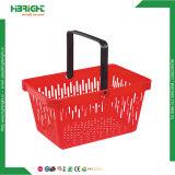 Plastic Kleinhandels het Winkelen van de supermarkt Mand 28L