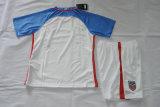 2016/2017 los E.E.U.U. se dirige el kit blanco del fútbol del cabrito