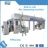 Máquina que lamina de la capa de papel de la película plástica de la protuberancia