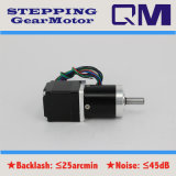 NEMA11 L=30mm Stepping Motor com 1:12 de Gearbox Ratio