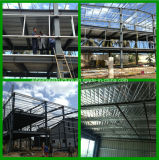 Baustahl-mehrstöckige Bürohaus-Werkstatt