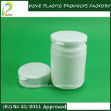 50ml HDPE Plastic Cylinder Candy Bottle con Flip Top Cap