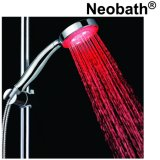Testa di acquazzone accessoria della stanza da bagno LED della Cina per l'acqua di risparmio