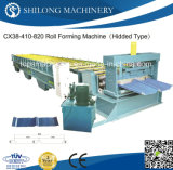 Alta calidad Azulejo Panel de cubierta Máquina formadora de rollos