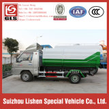 3 Cbm Side Loading e ONU-Loading Crane Bucket Garbage Truck Mini Rubbish Vehicle