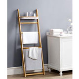 Home di bambù Wall Shelf con Two Layer