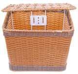 Weave Basket com Cover Bicycle Basket Bike Basket