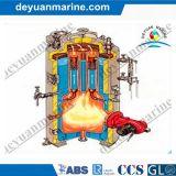 Niedriger Preis-vertikaler Dampfkessel-ölbefeuerter oder Gasdampf-Warmwasserspeicher-horizontaler Marinedieseltyp Marinedampfkessel hergestellt in China