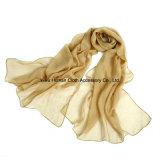 Knicken-Normallack-weicher leichter Schal der Frauen