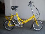 Bicicleta elétrica de dobramento do motor sem escova do frame 36V 250W (FB-008)