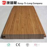 Suelo de bambú de interior de la madera para su hogar