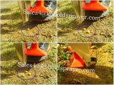 Plantador portátil da semente do milho do tambor dobro com fertilizante
