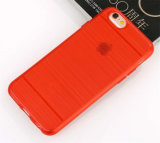 iPhoneのための移動式Phone Protector Hairline TPU Case