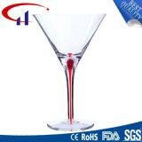 Cálice de vidro desobstruído sem chumbo de cristal (CHG8068)