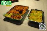 3개의 격실 알루미늄 호일 음식 쟁반