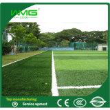 herbe de plastique de cour de jeu du football de 50mm