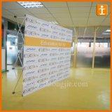 étalage incurvé 2016 10FT horizontal d'exposition de tissu de tension