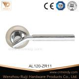 Het Handvat van de Deur van de Hefboom van het Aluminium van de goede Kwaliteit op Rozet (AL160-ZR05)