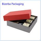 装飾的なボール紙のペーパーワイングラスのギフト用の箱