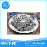 부엌 사용 알루미늄 호일 음식