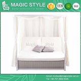 Doppio-Bed SGS Daybed (MAGIC STYLE) del patio 2-Seater Bed di angelo II Daybed Wicker Daybed Rattan