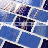 벽돌 노예 진한 파란색 혼합 녹는 유리제 모자이크 타일 (BGZ014)