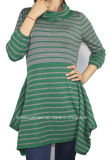 Frauen Knitted Fashion Sweater Dress durch Knitting (12AW-304)