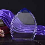 Premio de cristal K9 trofeo para regalo del recuerdo