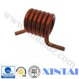 Muelles de torsión espirales de cobre de encargo de la oferta
