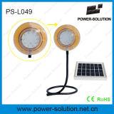 Luz solar versátil com carregador do telefone