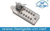 Fechamentos de porta mecânicos da combinação de Yh9168 Digitas com 2 chaves