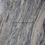 Lajes cinzentas chinesas de Jupurana do granito de pedra natural para telhas e bancadas
