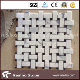 Bathroom Wall를 위한 최신 Sale 3D Whitemarble Mosaic Tile