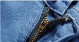 Jeans scarni acrilici delle donne del denim con la forte stirata